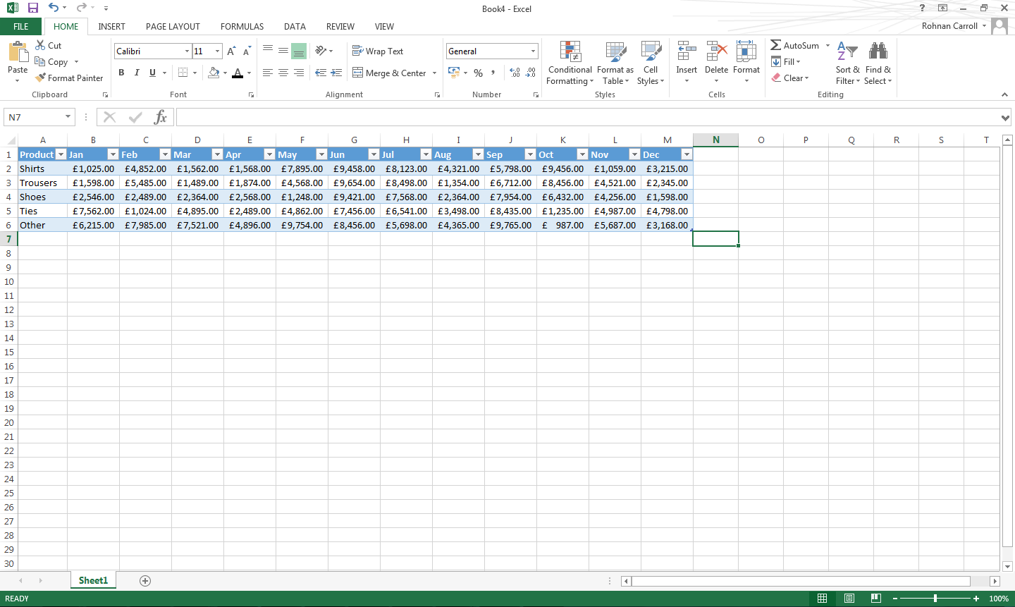 Learn how to use slicers in excel bespoke excel for Table design tab excel